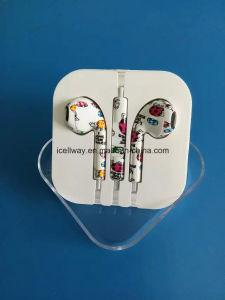 Новый дизайн моды яркие наушники с микрофоном для мобильного телефона