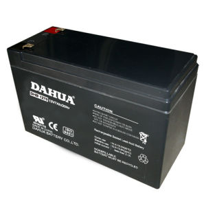 bateria acidificada ao chumbo selada VRLA do UPS da manutenção de 12V 7ah livre