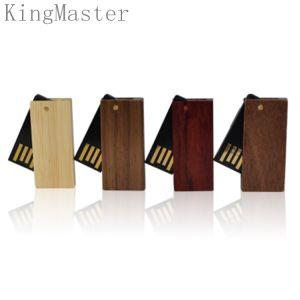 Ручка USB короля Оригинала Вычуры Древесины Шарнирного соединения|Приводы вспышки USB