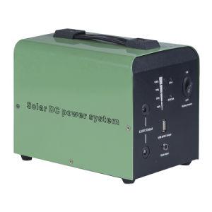 30W het Huis van het zonnestelsel met 24ah Systeem van de Verlichting van de Batterij en van het Controlemechanisme het Zonne