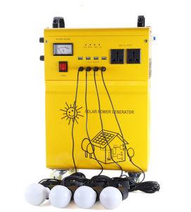 100W fuera de la red Inicio Solar generador de energía para electrodomésticos