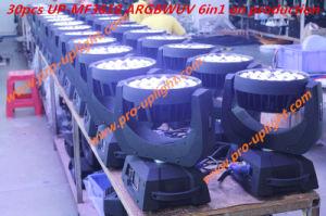 36 * 18W UV RGBWA 6en1 Lavado LED de Cabeza Móvil