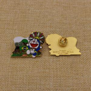Custom/Metal/botón/polo/estaño/Policía/militar/emblema/nombre/Esmalte Duro Insignia Insignia de solapa