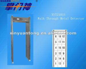 情報処理機能をもったセリウムのボディスキャンナー(XYT2101S)のための公認の金属の検出のゲート