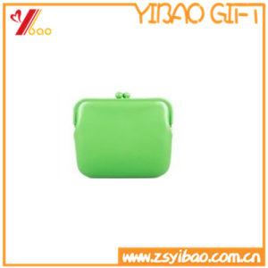Silicone portable coloré personnalisé Pièce de monnaie sac sac à main
