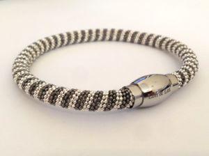Мода браслет с латунными цепь + магнитная застежка из нержавеющей стали