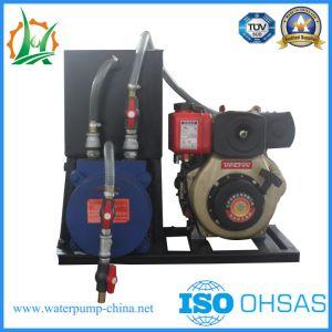 탈수 펌프, 진공 지원은 원심 수도 펌프 트레일러 혼합 흐른다