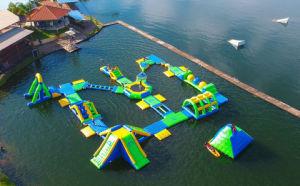 2018最も普及した膨脹可能な浮遊水公園