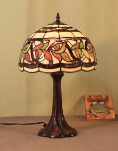 Lampe Tiffany (Série de lampe de table A1)