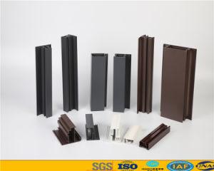 Revestimento a pó 6.063 Alumínio T5 / Perfil de extrusão de alumínio para portas Windows OEM da indústria com boa qualidade