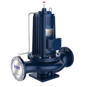 전기 원심 통조림으로 만들어진 수도 펌프