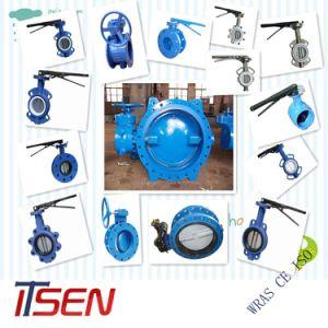 Espolón DIN/ANSI/Wafer tipo brida/válvula de mariposa hecha de China Itsen