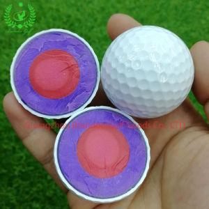 Super professionnel de la distance de l'Uréthane de PU Solf Tournoi 4couche Balle de Golf