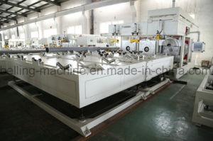 2017 automático horno doble tubería de PVC Belling/Engaste Máquina/máquina de plástico