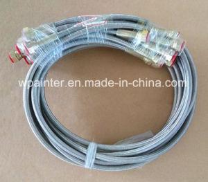 3/4本の SAE100 R14 PTFEのテフロンステンレス鋼のホース