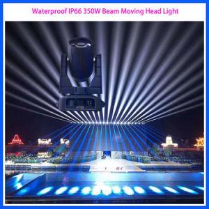 Fase de construcción resistente al agua 440W luces LED moviendo la cabeza de la luz exterior