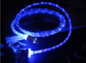 Светодиодный индикатор USB-кабель передачи данных для Android Samsung iPhone