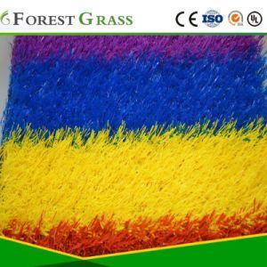Césped Artificial de color/césped sintético para decoración (MPY)