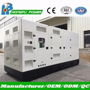 Бесшумный 400Ква Основная мощность дизельного двигателя с генераторной установкой двигателя Cummins
