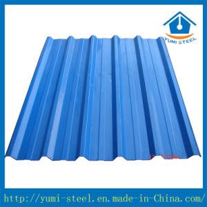 Matériau de construction en acier prépeint Feuille de toiture en métal pour la décoration
