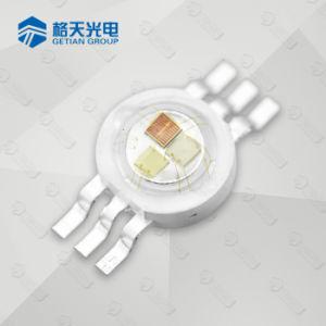 8 Patillas Color RGBW 10W LED de alta potencia