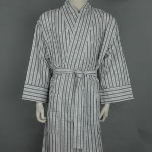 100% Фланель кимоно стиле халат