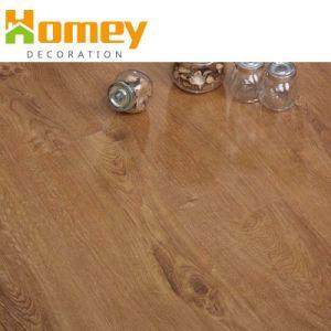 L'utilisation de l'intérieur Revêtement UV chercher du bois de plancher en vinyle PVC