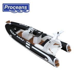 5,8 milhões/19pés costela Hypalon PVC/barco/barcos/Barco a Motor/barco/barco de pesca