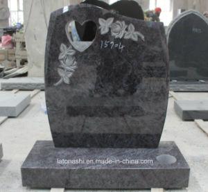 墓石または墓石のためのBahama/Vizagの青い花こう岩