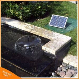 17V 10W装飾的な屋外の庭のプールの池のための太陽動力を与えられた水噴水ポンプキット