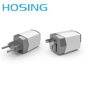 2.1A 3.1A адаптер питания с двумя портами USB для Samsung iPhone