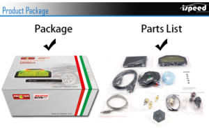 ¿904 Bluetooth Pantalla Carrera Dash Kit sensor medidor medidor, pantalla LCD de panel