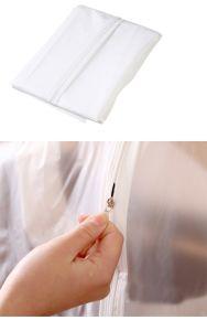 PEVAの透過Foldableちり止めのスーツの服の衣服のパッキング袋