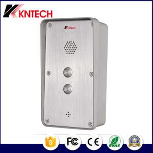 Для использования вне помещений домофон Добро пожаловать Knzd-45 Аварийный IP-станции вызова с помощью одной кнопки