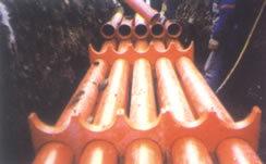 Tubo del cavo della fibra di vetro