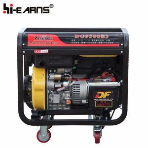 5.5kw 휴대용 디젤 엔진 발전기 세트 (DG9500E)