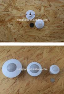 Es-P17UM SENSOR PIR de montagem embutida no tecto /Detector por infravermelhos passivos do Sensor de presença de ocupação do PIR