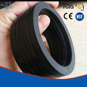 Hydraulische de v-Ringen van de Staaf en van de Zuiger NBR+Cotton Verbindingen voor Apparatuur Oilfiled