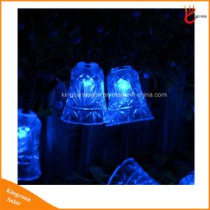 Im Freien Solarzeichenkette-Lichter der Bell-Form-Landschaft50led für Hochzeitsfest-Garten-Pfad-Dekorationen