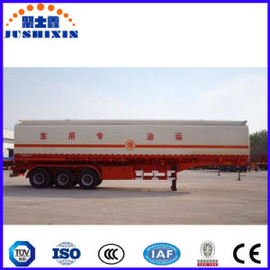 Neuer Kraftstoff-Tanker-halb Schlussteil des Kohlenstoffstahl-45m3