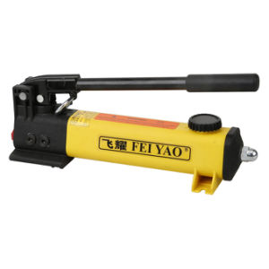 Pompa di olio manuale idraulica leggera di grande capienza dell'olio