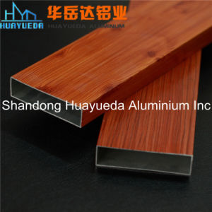 Profili di alluminio di legno personalizzati dell'espulsione per i portelli e Windows