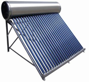 太陽多岐管によるプールの太陽暖房