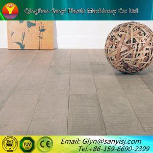プラスチックPVC木製のビニールの板の床シートのタイルのDeckingの押出機機械