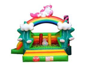 Unicorn пони надувной замок прыгающие надувные Луны Chb возврата769