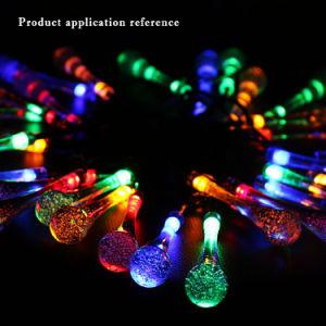 Solarzeichenkette-Licht des Kippschalter-wasserdichtes buntes Absinken-30 LED