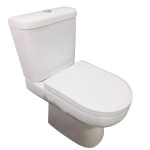 Sanitarios de lavado de dos piezas de cerámica de la trampa de wc Closestool P