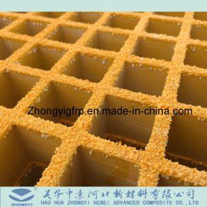 Coperchio stridente del piatto della granulosità della muffa della grata della vetroresina di GRP FRP