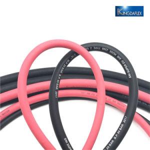Faser-umsponnener Gummiluft-Schlauch/Wasser-Schlauch