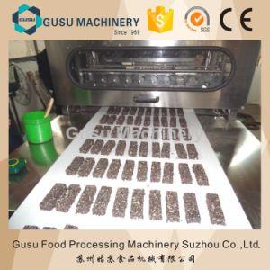 Compuesto de aperitivos dulces cereales automática máquina de hacer la barra de chocolate